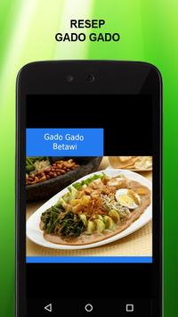 Resep Gado Gado apk screenshot