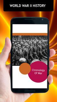 World War II History poster