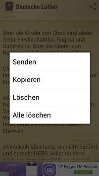 Bibel Deutsche Luther apk screenshot