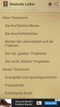 Bibel Deutsche Luther poster