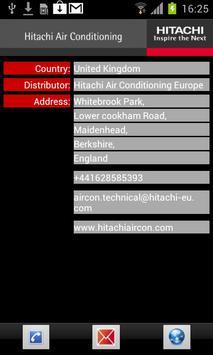 Hitachi Aircon Alarms apk screenshot
