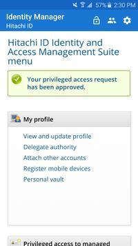 Hitachi ID Mobile Access apk screenshot