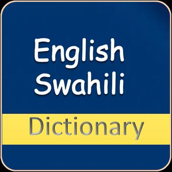 English Swahili Dictionary poster