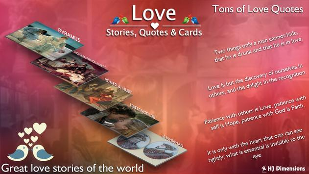 Love Stories & Quotes Pro poster