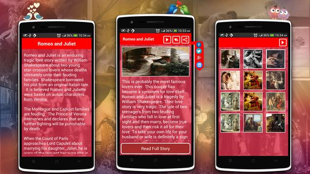 Love Stories & Quotes Pro apk screenshot