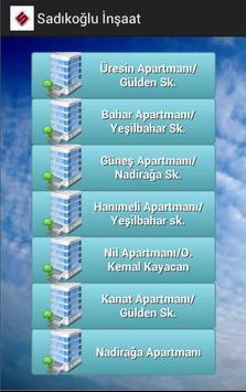 Sadıkoğlu İnşaat apk screenshot