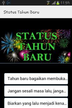 Status Tahun Baru poster