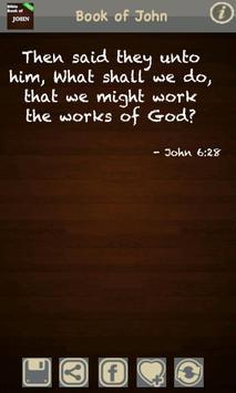 Book of John (KJV) FREE! apk screenshot