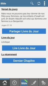 Louis Segond French Bible FREE poster