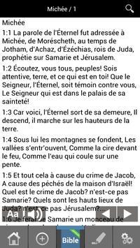 Louis Segond French Bible FREE apk screenshot