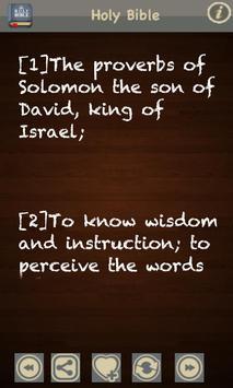King James Bible (KJV) FREE! apk screenshot