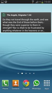 Holy Quran English (Yusuf Ali) apk screenshot