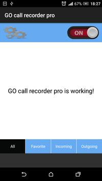 Call voice recorder apk screenshot