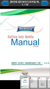 DaView Indy poster