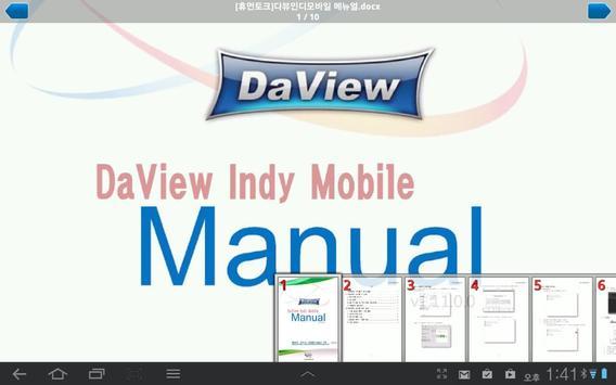 DaView Indy apk screenshot