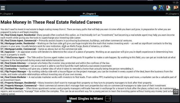 Top 100 Ways Make Money Estate poster