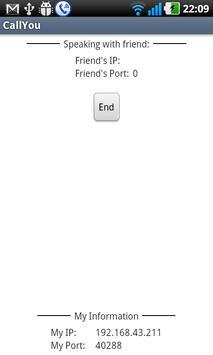 CallYou apk screenshot
