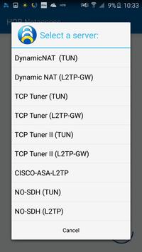 HOB NetAccess for Android apk screenshot