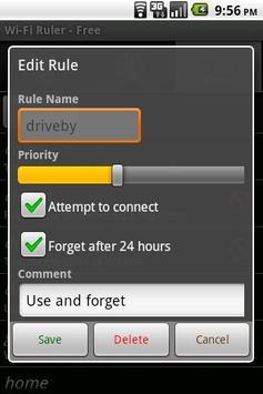 Wi-Fi Ruler (a WiFi Manager) apk screenshot