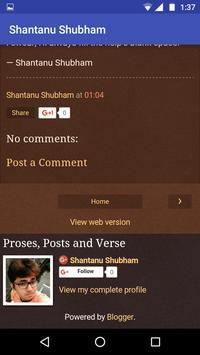 S. Verselet: Poems and Stories apk screenshot