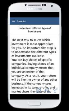 How To Buy Stock apk screenshot