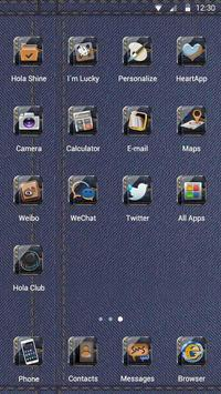 The Traveling Jeans Hola Theme apk screenshot