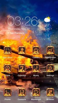 Burning War - Best Theme poster
