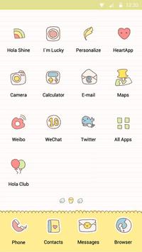 Back to School - Hola Theme apk screenshot
