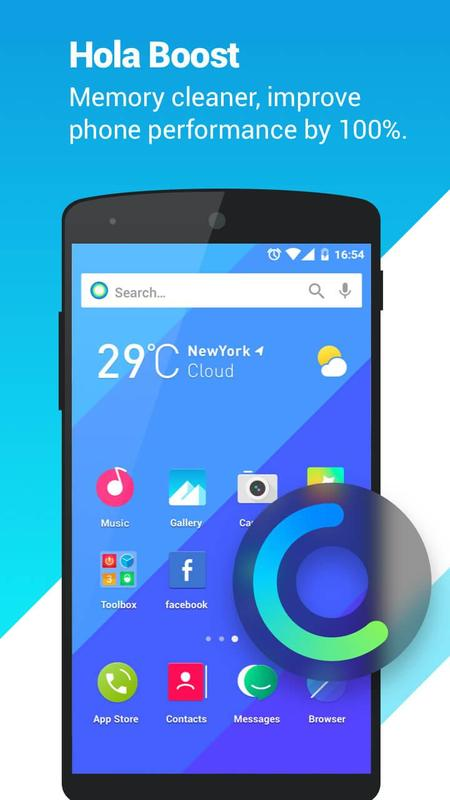 Hola launcher theme wallpaper apk download free for Wallpaper home launcher