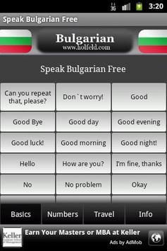 Speak Bulgarian Free poster