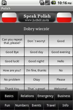 Speak Polish Free poster