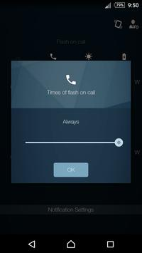 Flash Ring Pro Call/SMS/Alert apk screenshot