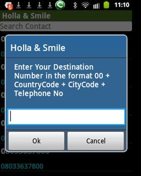 Holla&Smile apk screenshot