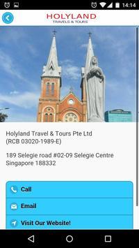 Holyland Travels and Tours apk screenshot