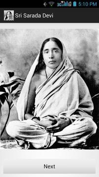 Sri Sarada Devi poster