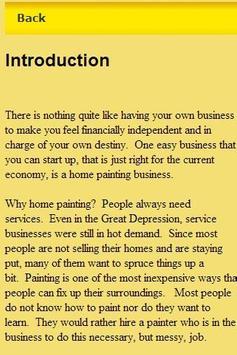 Home Paiting Guide Business apk screenshot