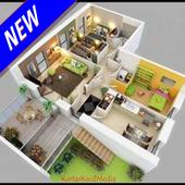 3D Home Minimalist icon