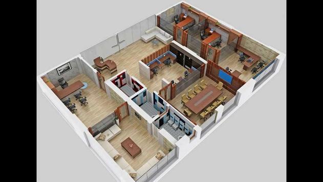 Unique Home Design 3D apk screenshot