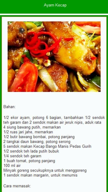 resep masakan nusantara apk download   free news