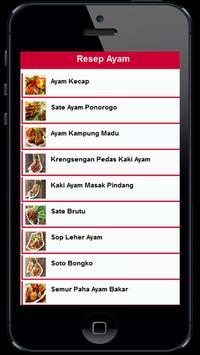 Resep Masakan Lezat poster