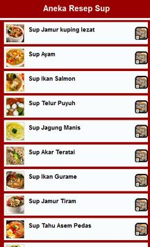 Resep Sup poster