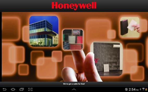Honeywell Cable for That!-HVAC poster