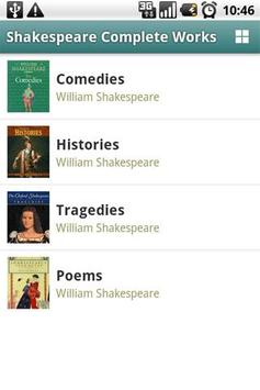 Shakespeare Complete Works poster
