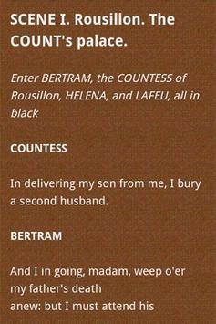 Shakespeare Complete Works apk screenshot