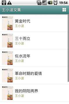 王小波文集 poster