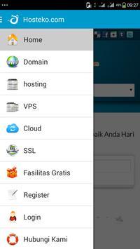 Hosteko Hosting Indonesia apk screenshot
