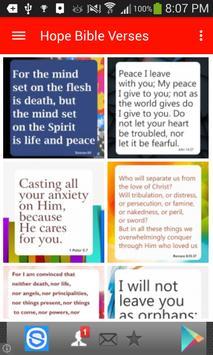 Bible Verses About Hope apk screenshot