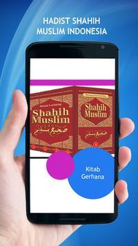 Hadist Shahih Muslim Indonesia poster