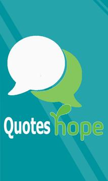 Quotes Hope poster