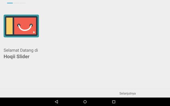 Hoqii Slider - OneX Demo apk screenshot